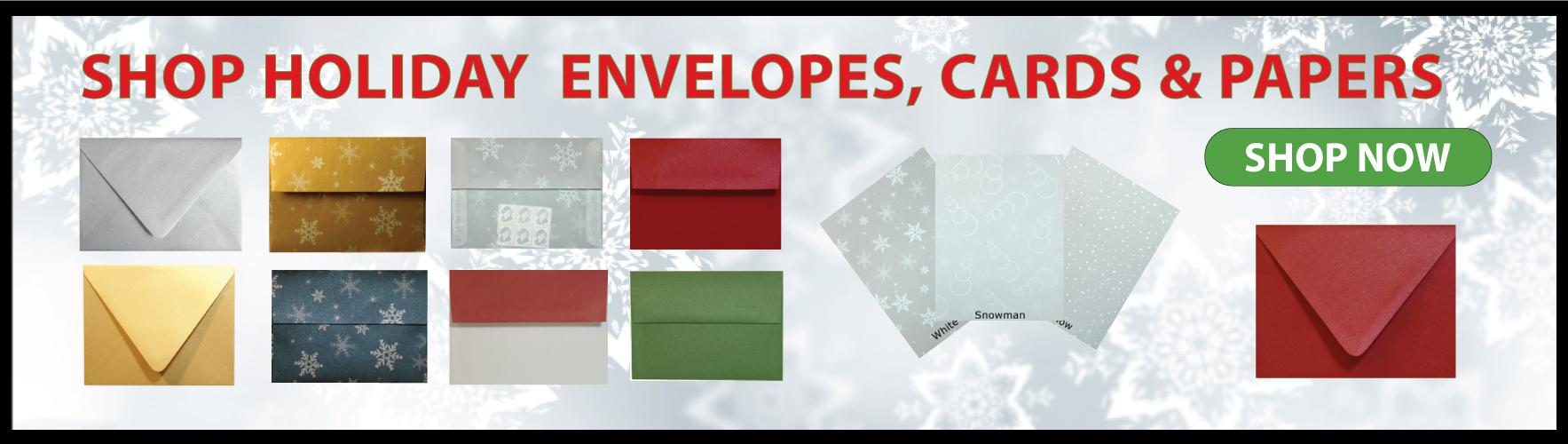 Shop Holiday Envelopes