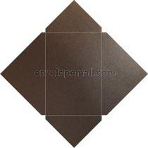 Sirio Pearl Graphite Metallic 110 lb Cover Pochette Invitation 5-1/8 x 7,