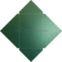 Sirio Pearl Jungle Green  Metallic 110 lb Cover Pochette Invitation 5-1/8 x 7