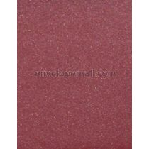 "Curious Metallic Red Lacquer 80 lb. Text - Sheets 8-1/2 x 11"" 100 Pack"