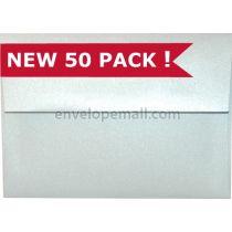 "Curious Metallic Ice Silver - A7 (5-1/4 x 7-1/4"")  Envelope"
