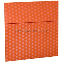 """Dotted Washi Orange - Square (6-1/2 x 6-1/2"""") Envelope 100 Pack"""