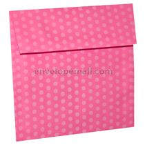 "Dotted Washi Pink - Square (5-1/2 x 5-1/2"") Envelope 100 Pack"