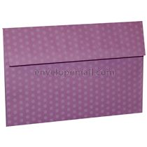 "Dotted Washi Purple - Booklet (6 x 9"") Envelope 100 Pack"