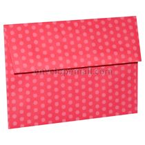 """Dotted Washi Red - 4Bar  (3-5/8 x 5-1/8"""") Envelope 100 Pack"""