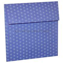 """Dotted Washi Violet - Square (5-1/2 x 5-1/2"""") Envelope 100 Pack"""