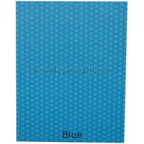 Dotted Washi Blue 65 lb Cover - Sheets 8-1/2 x 11