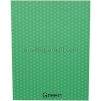 Dotted Washi Green 65 lb Cover - Sheets 8-1/2 x 11