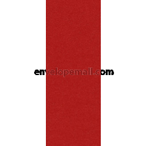 Stardream Jupiter Red 105 lb Cover - No 10. Flat Card 3-7/8 x 9-1/4