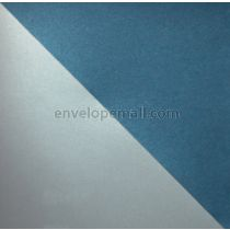 """Stardream Metallic Dual Lapis/Silverl 105 lb Cover - Sheets 8-1/2 x 11"""" 100 Pack"""