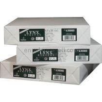 "Domtar Lynx Opaque 8 1/2"" x 11"" 60 lb. Digital Smooth Laser Paper"