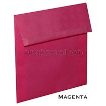 """Translucent Magenta - Square (5-1/2 x 5-1/2"""") Envelope"""