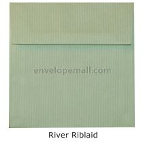 "Riblaid River - Square 5-1/2 x 5-1/2""  Envelope"
