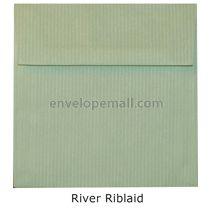 "Riblaid River - Square (6-1/2 x 6-1/2"") Envelope"