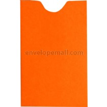 Britehue Orange Card Sleeve 2-1/4 x 3-5/8 Envelope