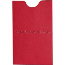 Britehue Red Card Sleeve 2-1/4 x 3-5/8 Envelope