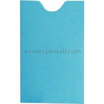 Britehue Blue Card Sleeve 2-1/4 x 3-5/8 Envelope