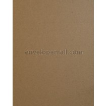 Brown Box Kraft Paper 8-1/2  x 11 Cover Sheets