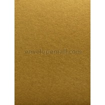 Stardream Antique Gold 105 lb Cover - 4 Bar Flat Card 3-1/2 x 4-7/8