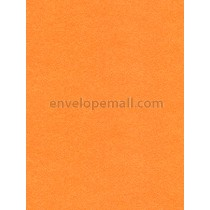 Curious Metallic Mandarin 111 lb. Cover - Sheets 8-1/2 x 11