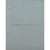 "Curious Metallic Galvanised 92 lb. Cover - Sheets 8-1/2 x 11"" 100 Pack"