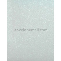 "Curious Metallic Ice Silver 80 lb. Text - Sheets 8-1/2 x 11"" 100 Pack"