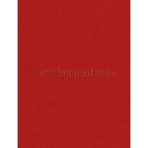 Stardream Jupiter Red 105 lb Cover - A2 Flat Card 4-1/4 x 5-1/2