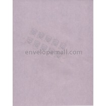 "Riblaid Lavender 60 lb Text  (8-1/2 x 11"") Sheets"