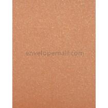"""Curious Metallic Mandarin 80 lb. Text - Sheets 8-1/2 x 11"""" 100 Pack"""