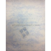 Translucent Marbled Blue 88 lb Text Sheets 8-1/2 x 11