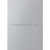 Stardream Silver 105 lb Cover - A2 Flat Card 4-1/4 x 5-1/2