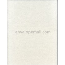 """Canaletto Grossa Bianco 111 lb Cover - A2 Flat Card 4-1/4 x 5-1/2"""" 100 Pack"""