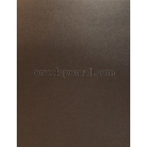 Sirio Pearl Metallic Graphite 110 lb. Cover Sheets 8-1/2 x 11