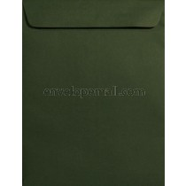 "Forest Green 9 x 12"" Catalog Envelope"