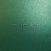 Sirio Pearl Metallic Jungle Green 110 lb. Cover Sheets 12 x 12