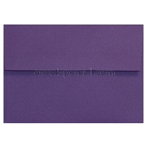 "Eames Furniture Kaleidoscope Purple 4Bar Square Flap (3-5/8 x 5-1/8"") Envelope"
