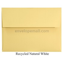"Classic Columns Recycled Natural White - A7 (5-1/4 x 7-1/4"") Envelope 100 Pack"