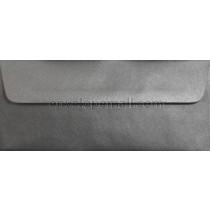 "Stardream Metallic Anthracite - No 10 Sq. Flap (4-1/8 x 9-1/2"") Envelope"