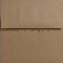 "Brown Bag Kraft 9 x 9"" (Square) Envelope"