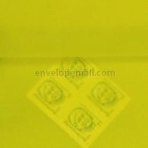 Translucent Chartreuse 5-1/2 x 5-1/2 Square Envelope