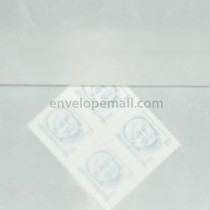 Translucent Marbled White 5-1/2 x 5-1/2 Square Envelope