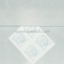 Translucent Marbled White 6-1/2 x 6-1/2 Square Envelope
