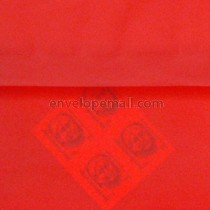 "Translucent Red - Square (5-1/2 x 5-1/2"") Envelope"