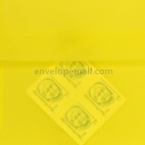 "Translucent Yellow - Square (6-1/2 x 6-1/2"") Envelope"