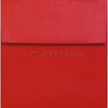 """Stardream Metallic Jupiter Red - Square (5-1/2 x 5-1/2"""") Envelope"""