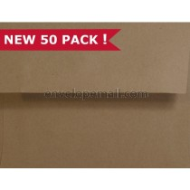Brown Bag Kraft A7 5-1/4 x 7-1/4 Envelope