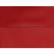 "Carnival Red 6 x 9"" (Booklet) Envelope"