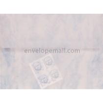 Translucent Marbled Blue A7  5-1/4 x 7-1/4 Envelope