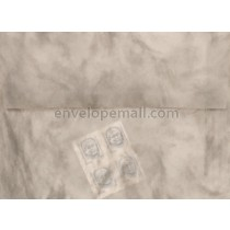 Translucent Marbled Gray A2  4-3/8 x 5-3/4 Envelope