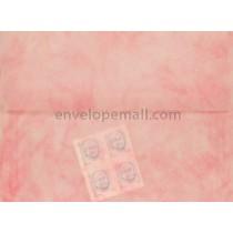 Translucent Marbled Rose A2  4-3/8 x 5-3/4 Envelope